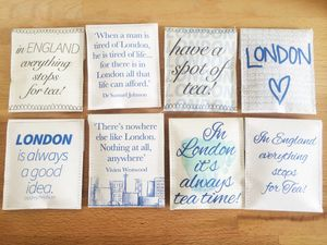 London Tea Gift Set - living room