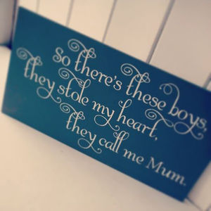 So There's These Boys Who Stole My Heart - children's room accessories