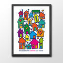 Illustrated Home Print Personalised