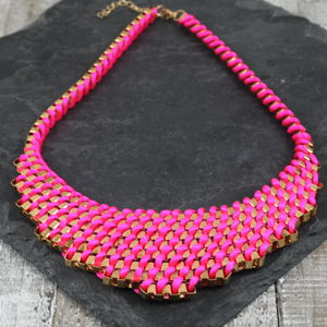 Summer Lace Weave Necklace