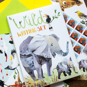 Wild Writing Stationery Set