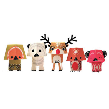 Paper Animals Christmas Creatures