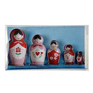 Russian Doll Cookie Cutters
