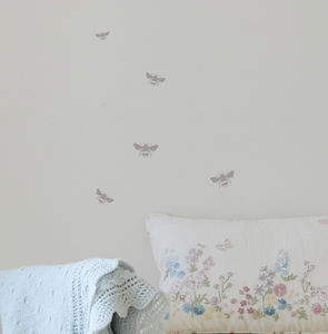 Mini Bumble Bee Wall Stickers - bedroom