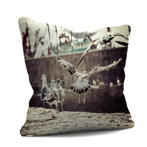 Moroccan Seagull Cushion