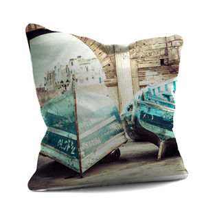 Moroccan Row Boats Cushion