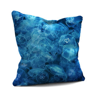 'Blue Jellyfish Cushions