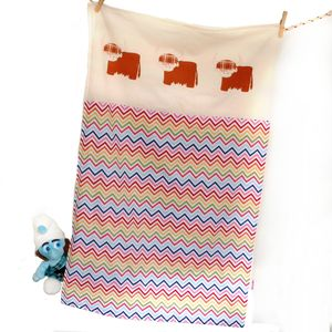 Cuddle Up Highland Cow Baby Blanket - blankets & throws