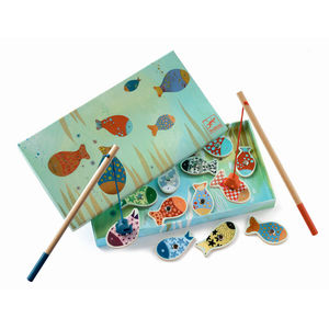 Wooden Magnetic Fishing Games - shop by price