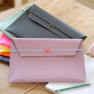 Undercover A4 Recycled Leather Envelope - office accessories