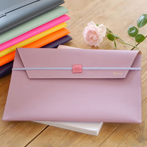Undercover A4 Recycled Leather Envelope - style-savvy