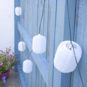 Chinese Lantern Solar Lights - lights & lanterns
