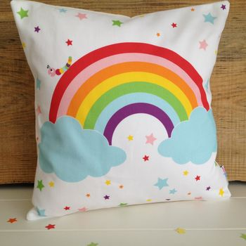 Children's Rainbow Cushion