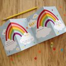 Child's Rainbow Cushion