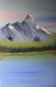 Mountain High, Original Oil Painting