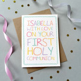 First Holy Communion Card - cards