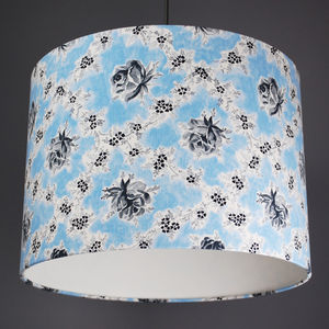 Designers Guild Wild Rose Fabric Lampshade - lamp bases & shades