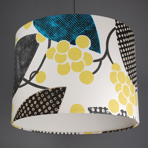 Designers Guild Barcelona Fabric Lampshade - lamp bases & shades
