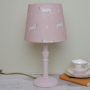 Handmade Jack On Pink Icing Lampshade