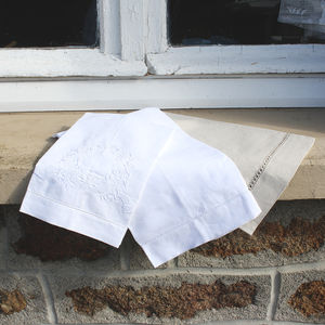 Pure Linen Hand Or Tea Towels - kitchen linen