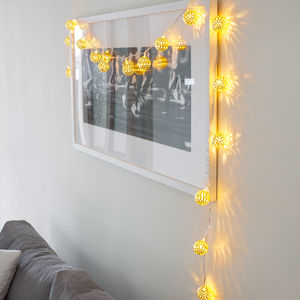 Gold Tangier Fairy Lights - fairy lights & string lights