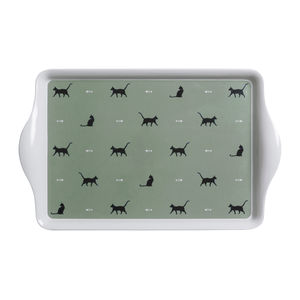 Large Cat Melamine Tray - trays