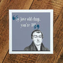 40th Birthday Card; By Jove You're 40