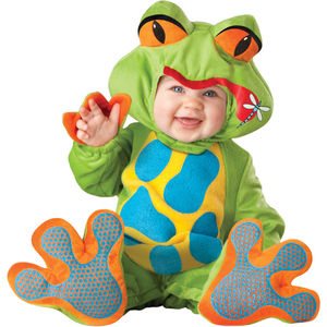 Baby's Frog Dress Up Costume - pretend play & dressing up