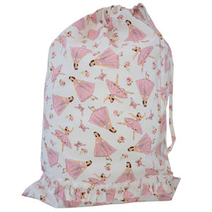 Ballerina Drawstring Bag