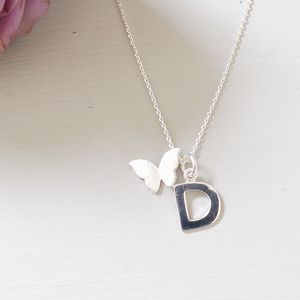Sterling Silver Initial Letter Charm