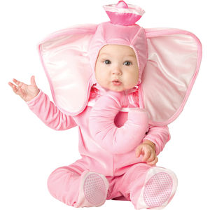 Baby's Elephant Dress Up Costume
