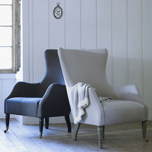 Bromley Wing Back Chair - armchairs