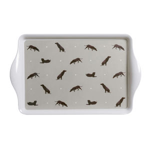 Large Labrador Melamine Tray - trays