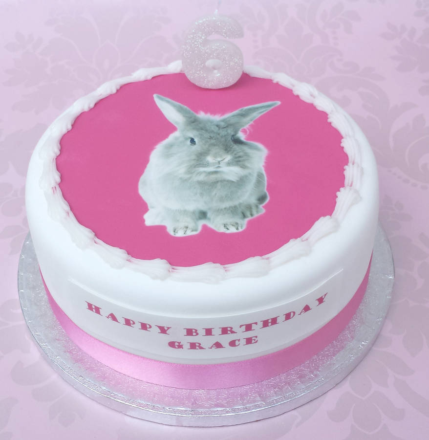 Bunny Kitten Or Puppy Birthday Cake Decoration Kit