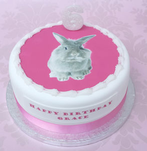 Bunny, Kitten Or Puppy Birthday Cake Decoration Kit