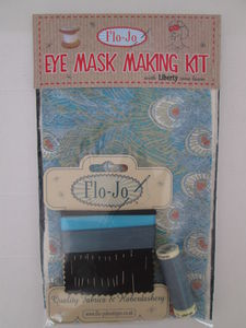 Eye Mask Making Kit Peacock - bedding & accessories
