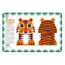 Organic Cotton Tea Towel Tiger