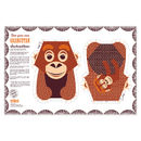 Organic Cotton Tea Towel Orangutan