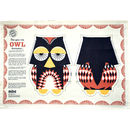 Organic Cotton Tea Towel Owl