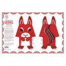 Organic Cotton Tea Towel Squirrel