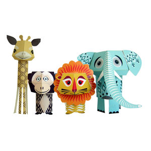 Paper Animals The Wild Bunch - toys & games
