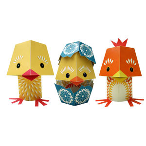 Paper Animals The Yolk Folk - easter playtime