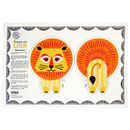 Organic Cotton Tea Towel Lion