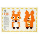 Organic Cotton Tea Towel Fox