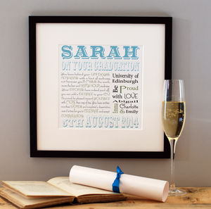 Graduation Print - shop by price