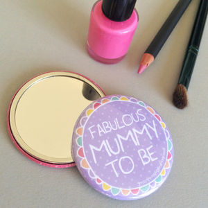 'Mum To Be' Pocket Mirror - maternity essentials