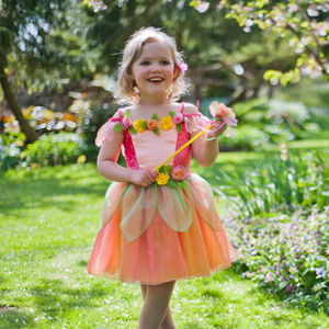 Children's Peach Melba Fairy Dress Up Costume