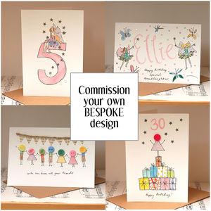 Bespoke Personalised Handmade Card