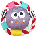 Monster Plush Rolli Frisbee Dog Toy