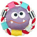 Monster Plush Rolli Frisbee Dog Toy
